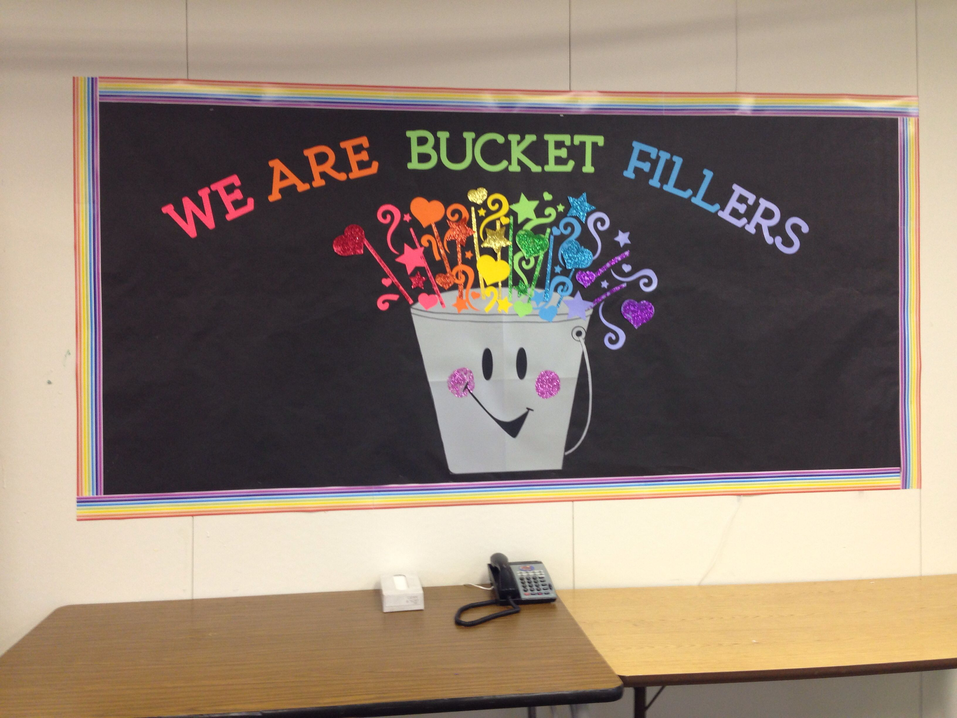 Have You Filled A Bucket Today Themed Wall Deco Zayra Linda And Robert