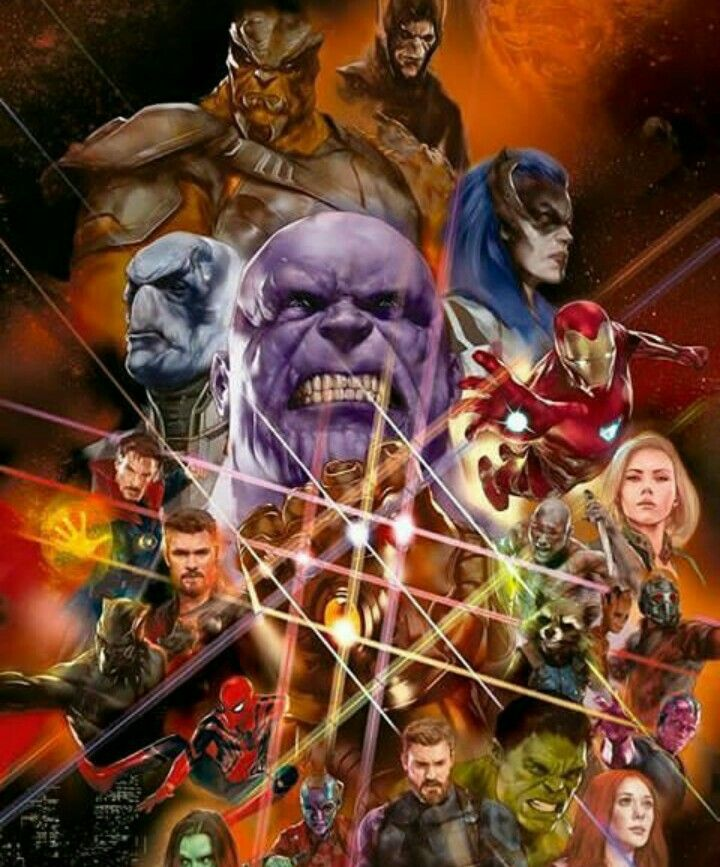 avengers Infinity war fan-art poster | Super Hero Lovers ...