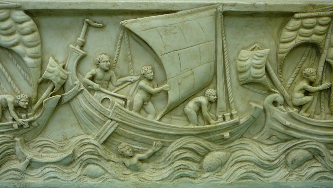 Image result for Ancient Roman Shipwreck frieze