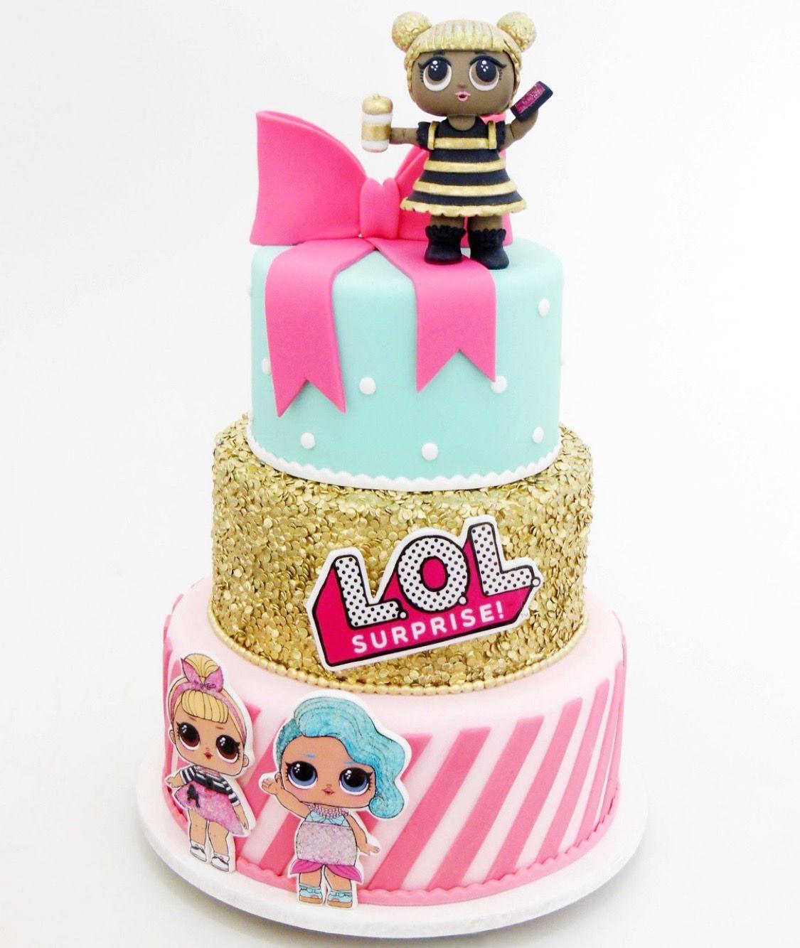 Lol Surprise Cake Topper