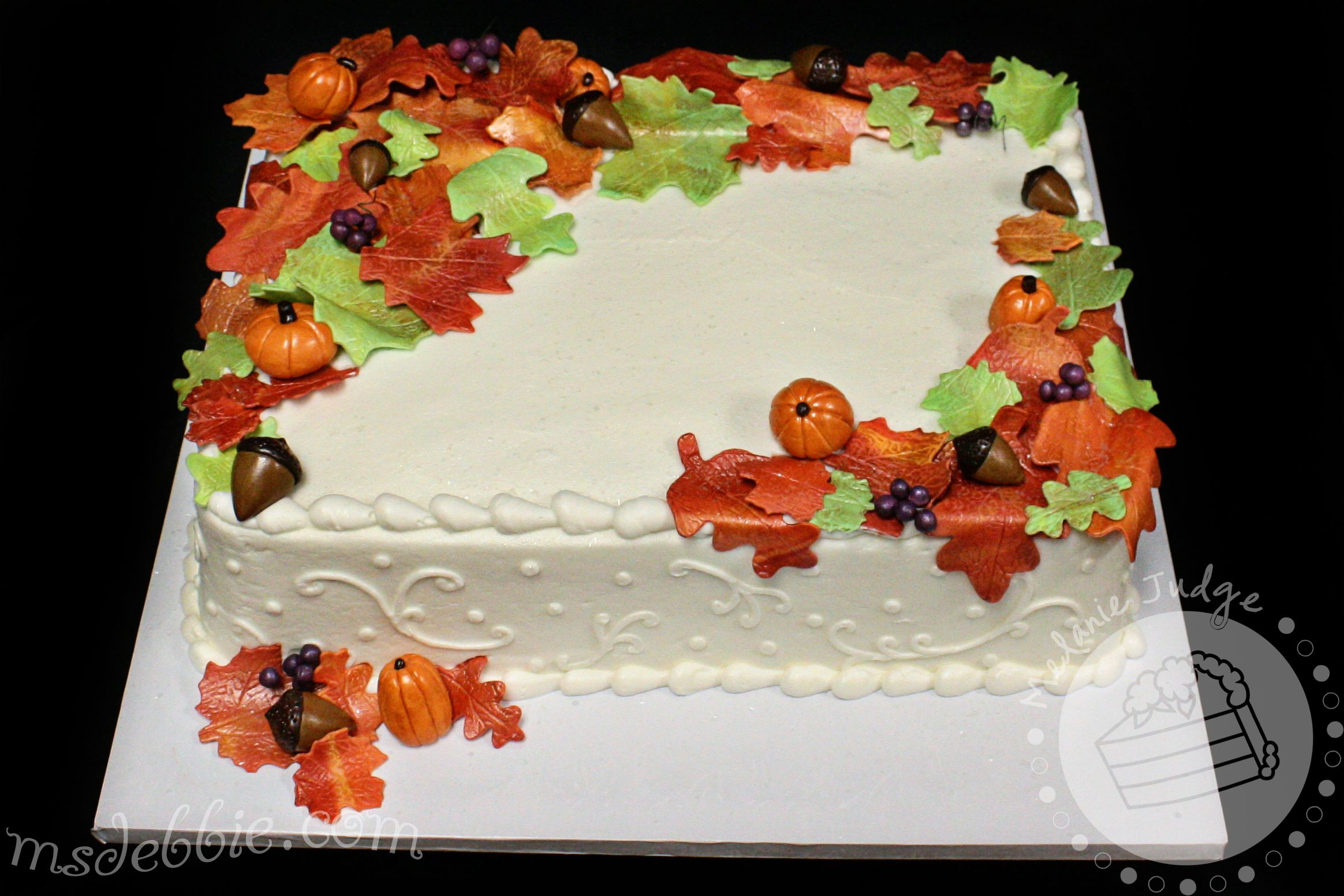 Fall Sheet Cake