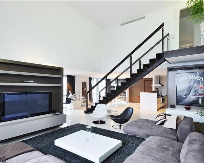 Open Stairs In Living Room Home Safe