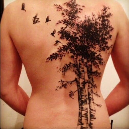 Birch Tree Tattoo Tattoos And Locations I Like