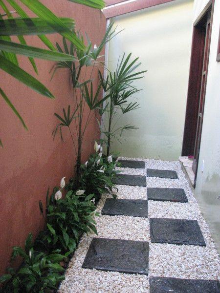 Jardins Em Pequenos Corredores Pesquisa Google Jardim Lateral Pinterest Gardens