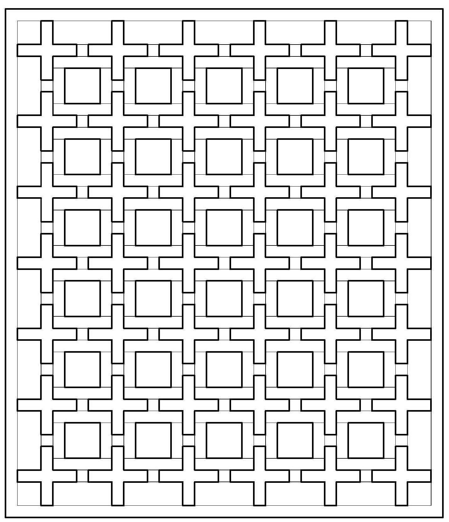 Plus Quilt Coloring Page Adult Coloring Pages Pinterest