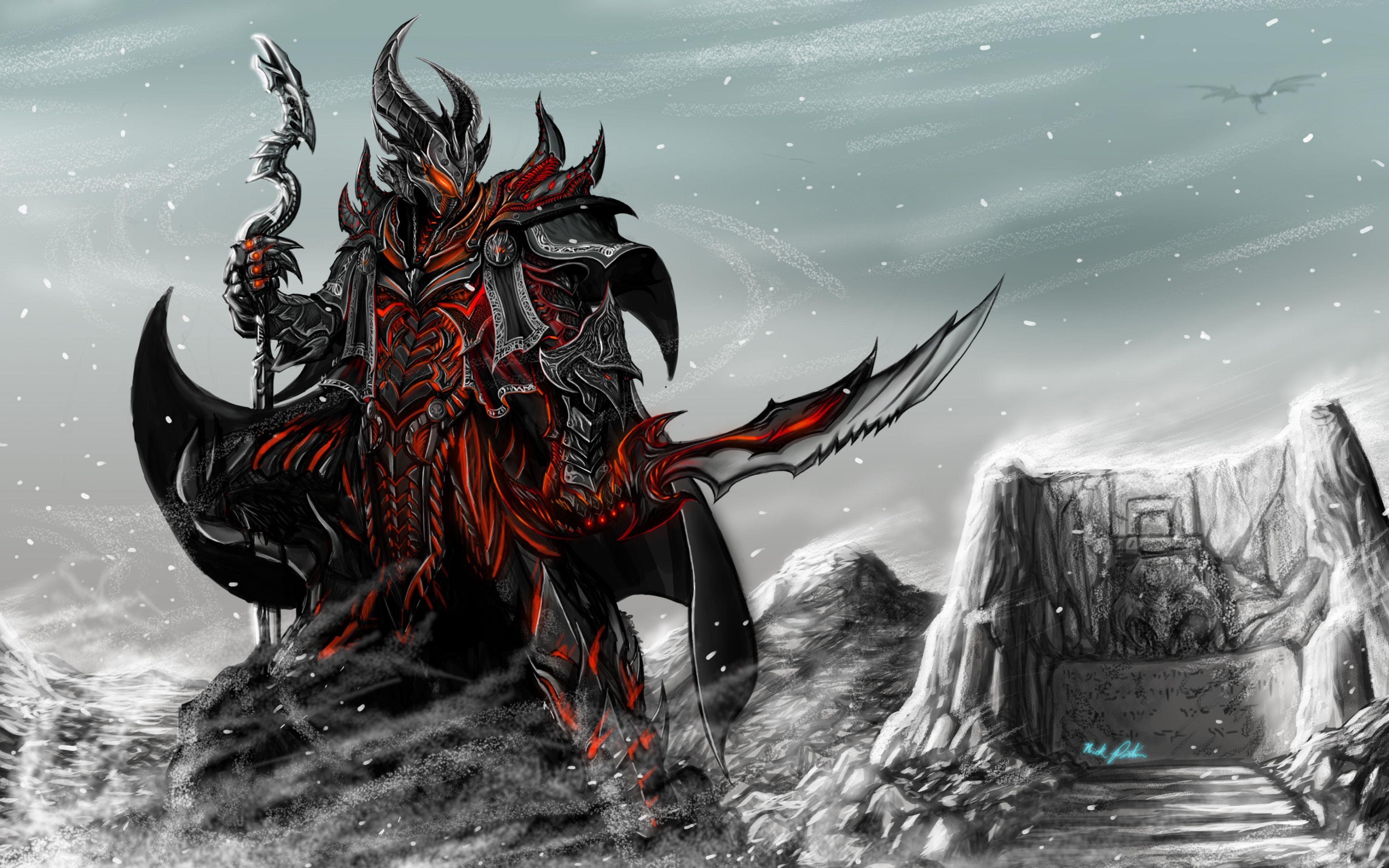 Ultra Hd K Skyrim Wallpapers Hd Desktop Backgrounds X Cavaleiro