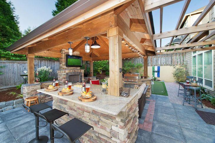 Staycation Landscape design in Camas Washington by Paradise