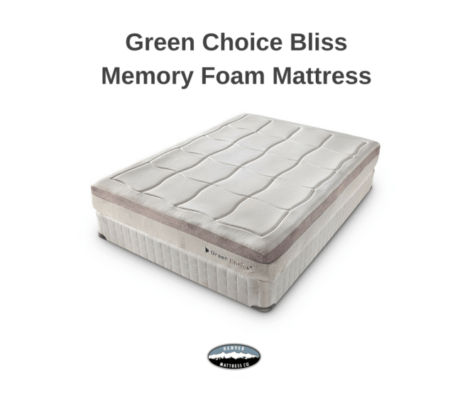 The Green Choice Line Of Mattresses Offers Superior Support For Proper Spinal Alignment And