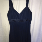 Long navy dress for wedding  Navy Chiffon Dress  Navy chiffon dress Wedding navy blue and