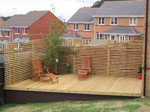 decking sloping garden - Google Search | Garden ... on Decking Ideas For Sloping Garden id=58253