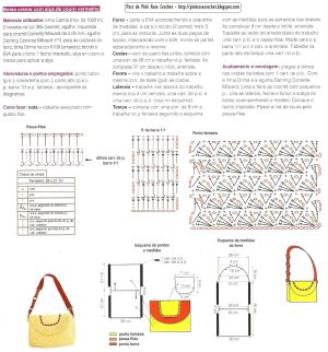 Free Crochet Purse PatternDiagramtranslate | bolsos