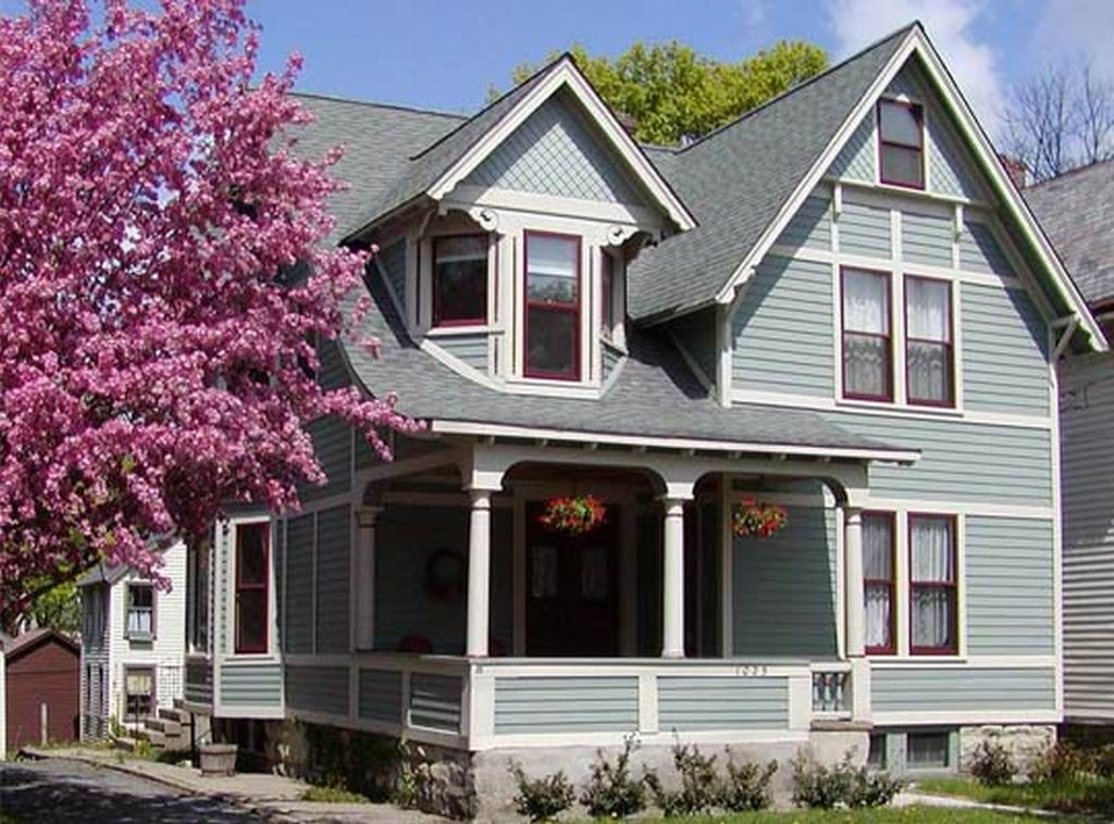 exterior house color schemes gray similar to celtic blue on exterior house paint colors schemes id=19406