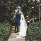 Navy blue dress shoes for wedding  modest wedding dress with long sleeves from alta moda  Photo by