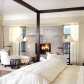 Master bedroom fireplace   Cozy  Warm Bedroom Fireplaces  LuxeSource  Luxe Magazine  The