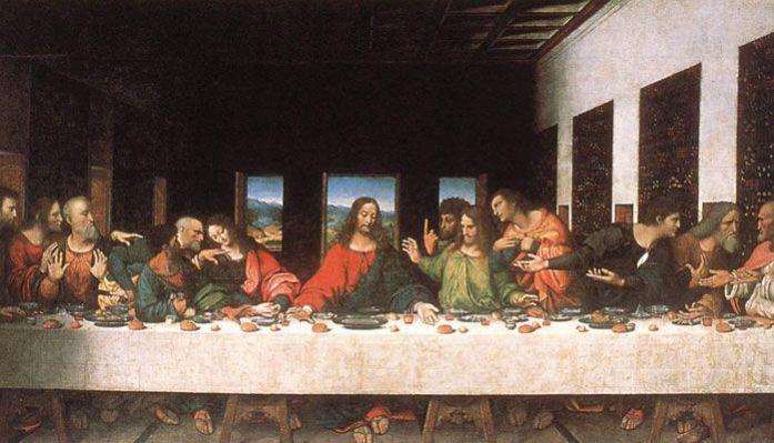 Image result for leonardo da vinci la ultima cena