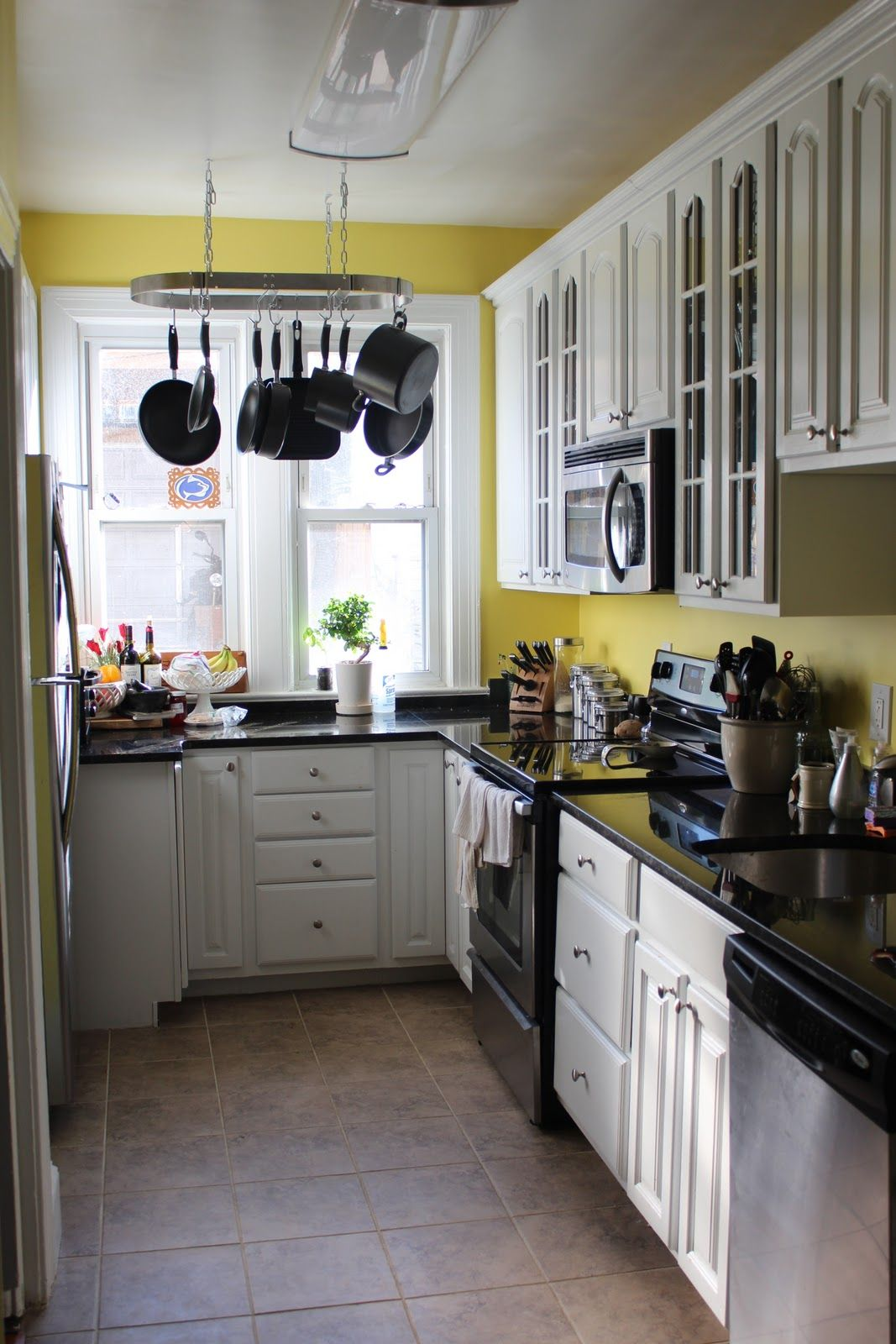 pinning this to show me i will not like this yellow kitchen for me kitchen pinterest on kitchen ideas yellow and grey id=75375