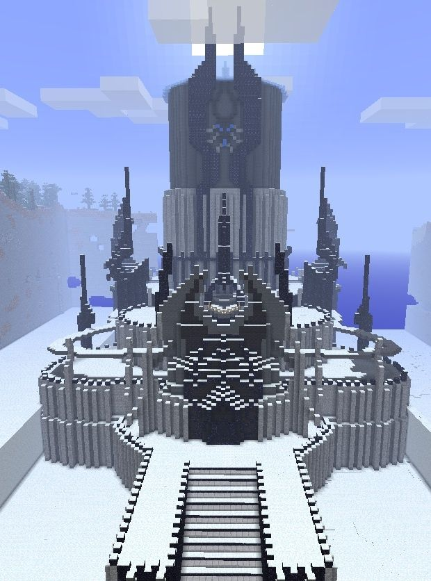 Ice Palace Minecraft Google Search Minecraft Pinterest