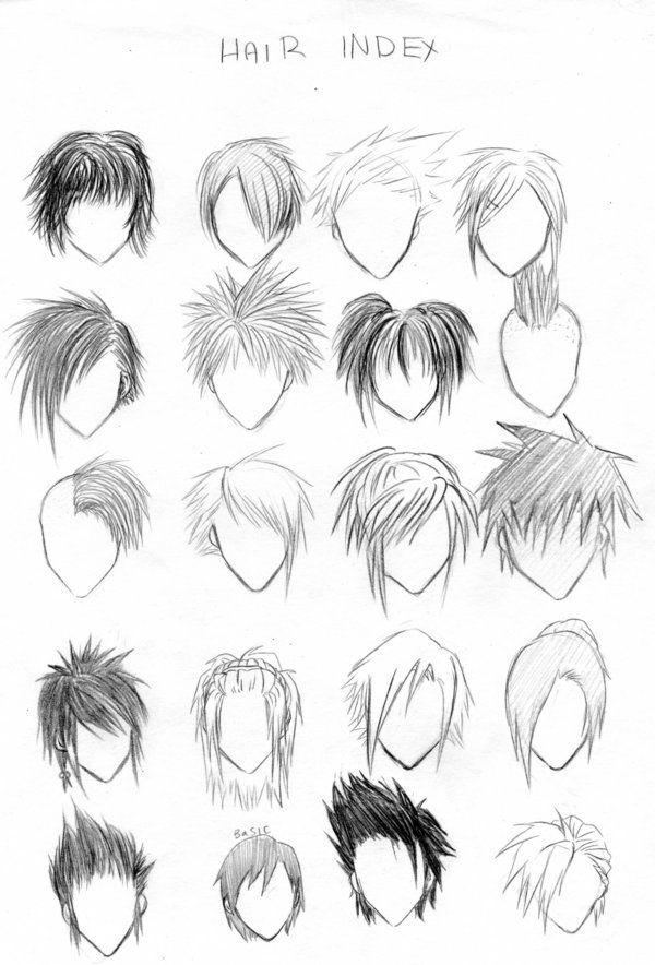 Manga Hair Manga Pinterest Manga Hair DeviantART