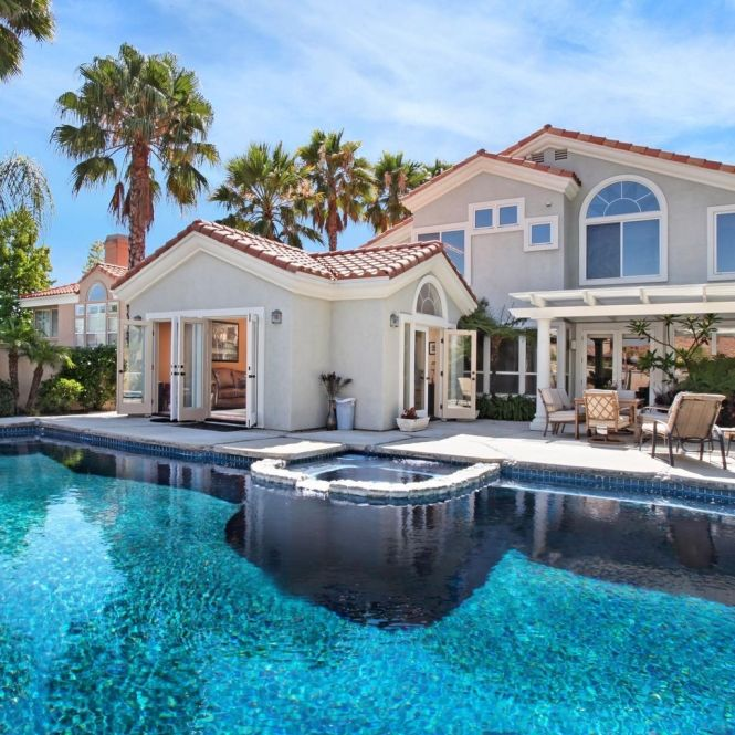 big houses with pools inside the house contemporary mansions