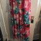 Brand new eliza j dress nwt white slip size and smoke free