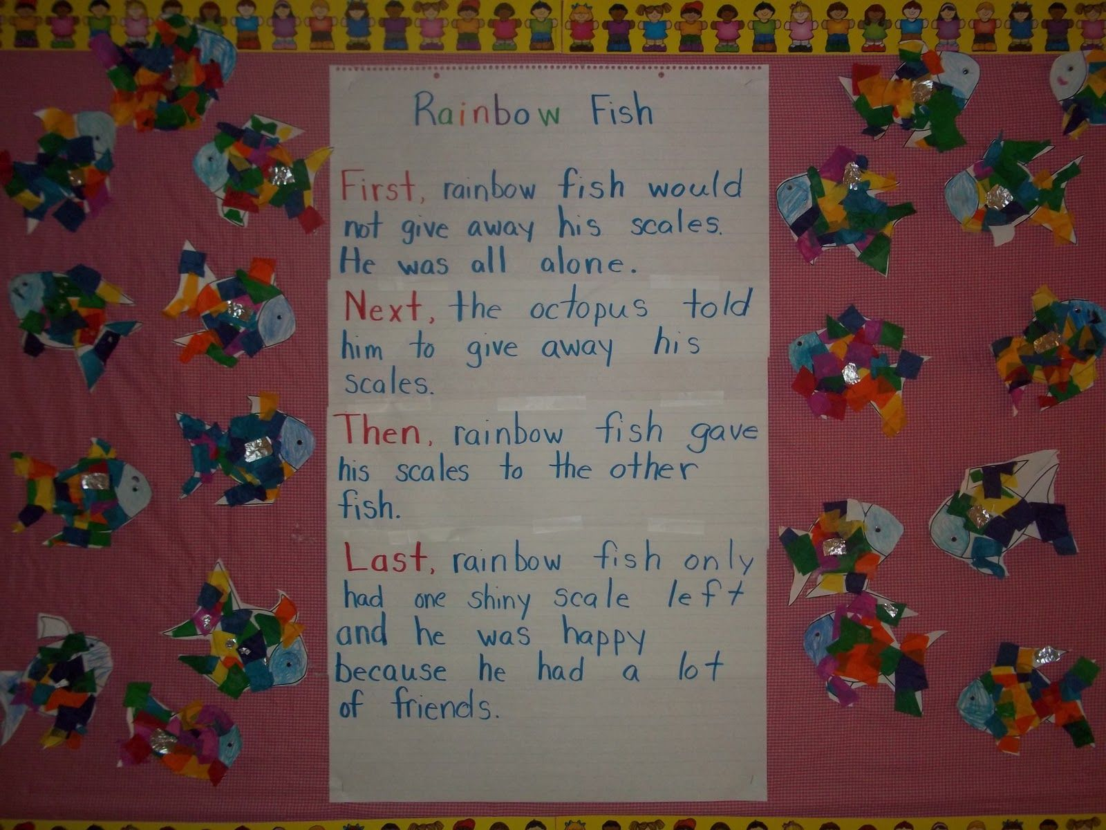 Rainbow Fish Activities For Kindergarten