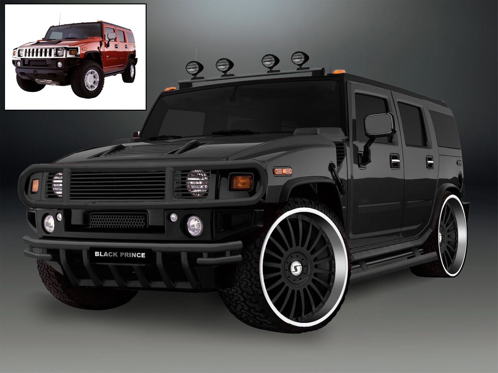 Hummer H2 HD Wallpaper Hummer Pinterest
