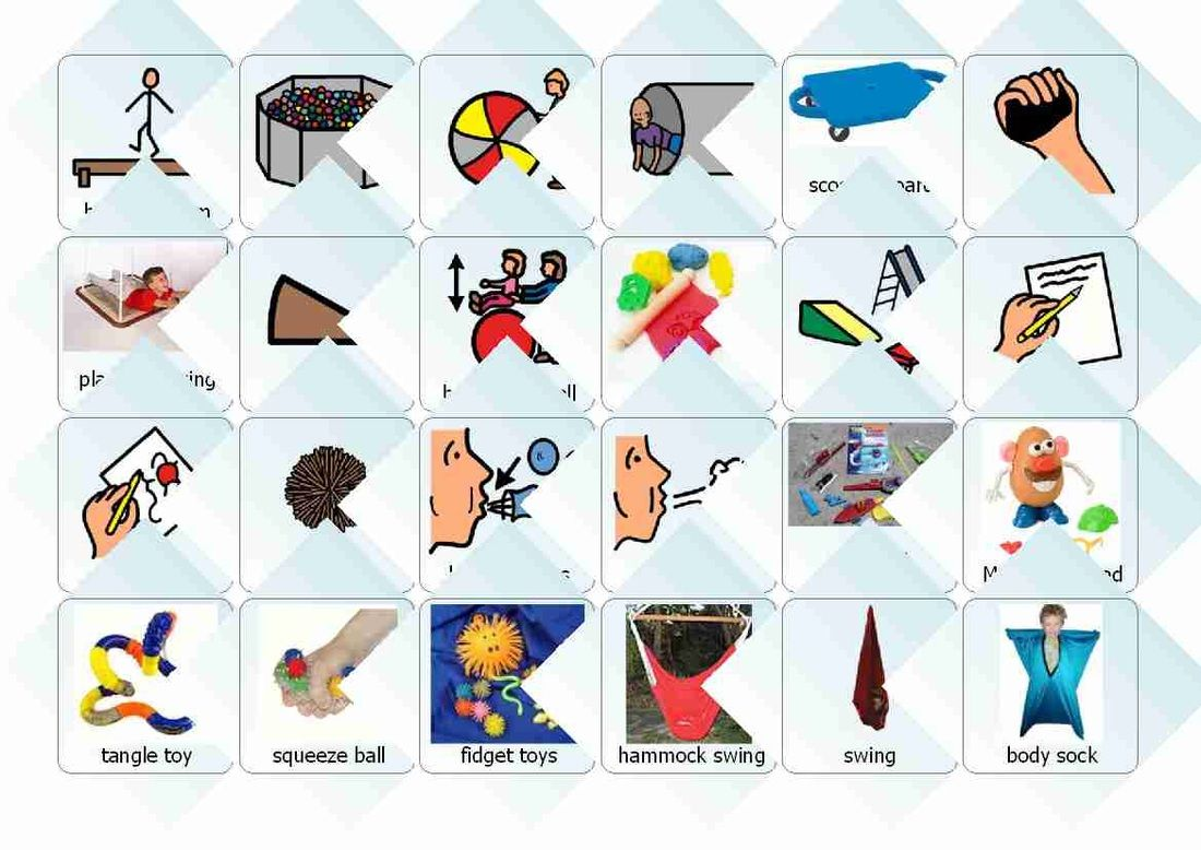 Free Boardmaker Illustrations Of Therapy Materials And Activities About 3 4 Down From Top Of