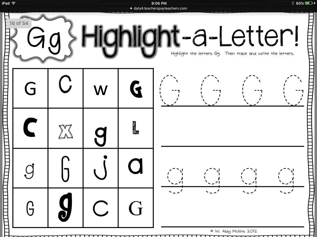 Letter G Phonics Worksheets Home Exsplore