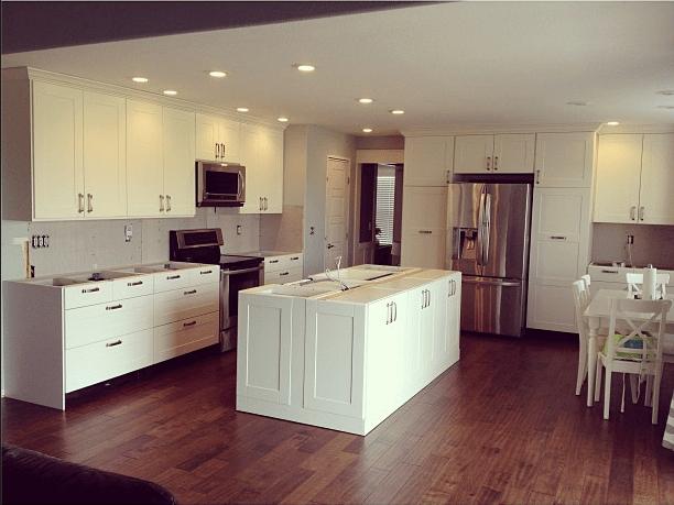 Kitchen Remodel Process, Grimslov Doors