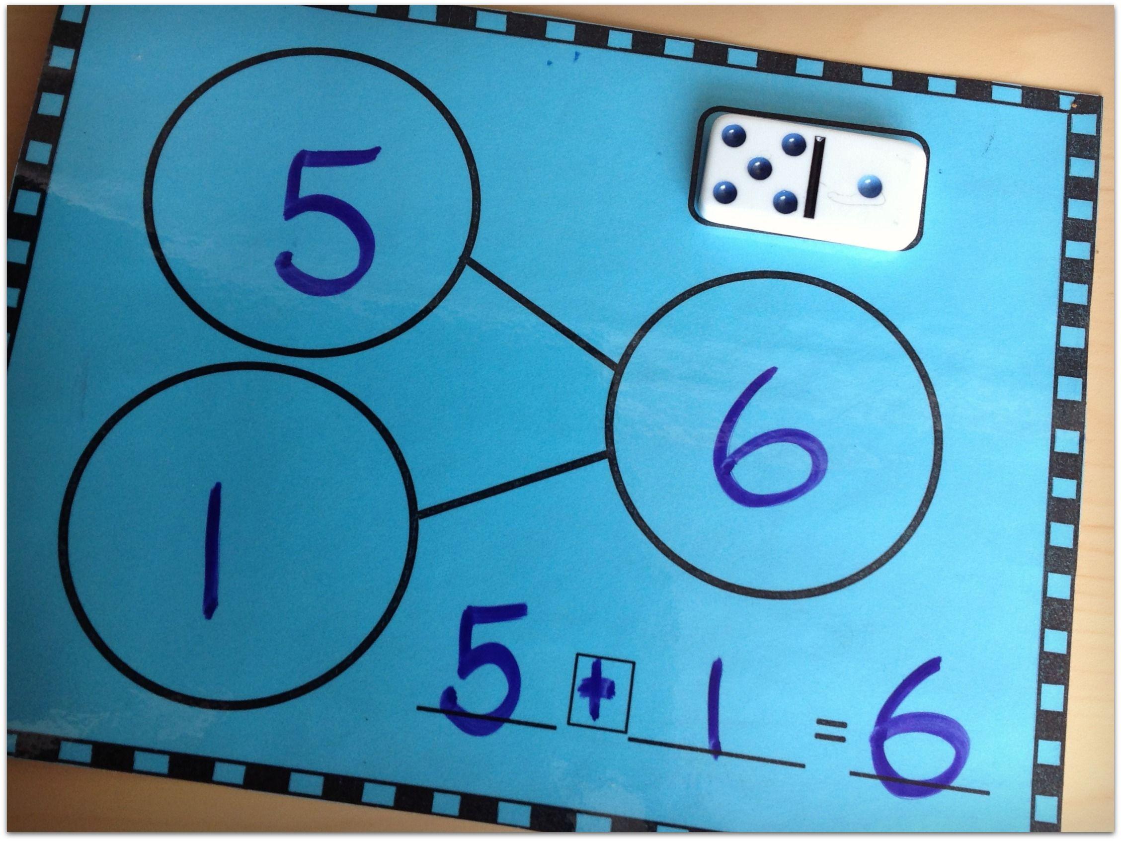 Year Round Domino Math Centers