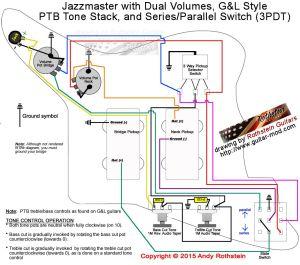 Jazzmaster Wiring SeriesParallel Switching   Bass Mods