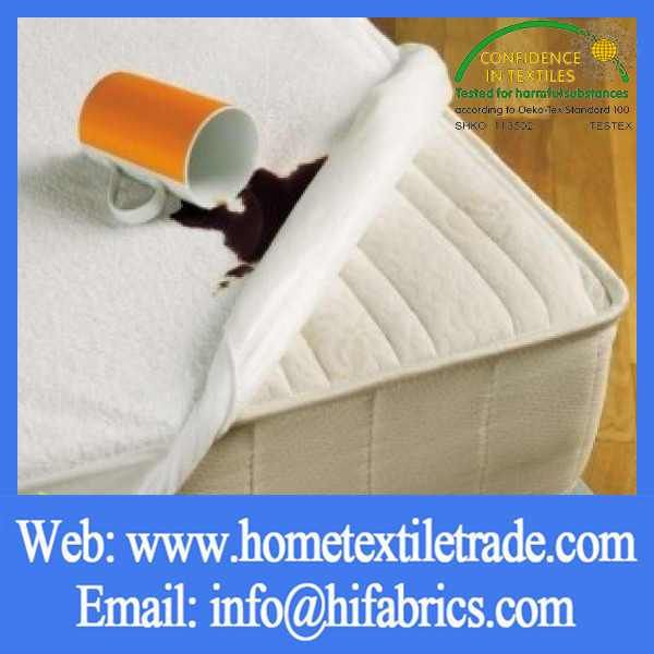 Hotel Home Bedding Terry Cloth Waterproof Mattress Protector Dust Mite Cover In Virginia