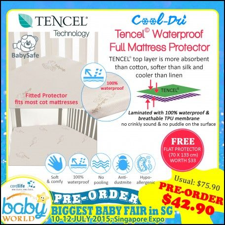 Baby Safe Mattress Cover