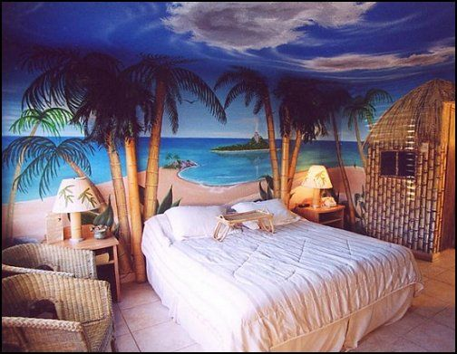 ... Beach Style Bedroom Decorating