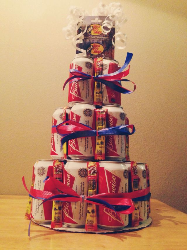 Beer can cake for the boyfriend d i y pinterest