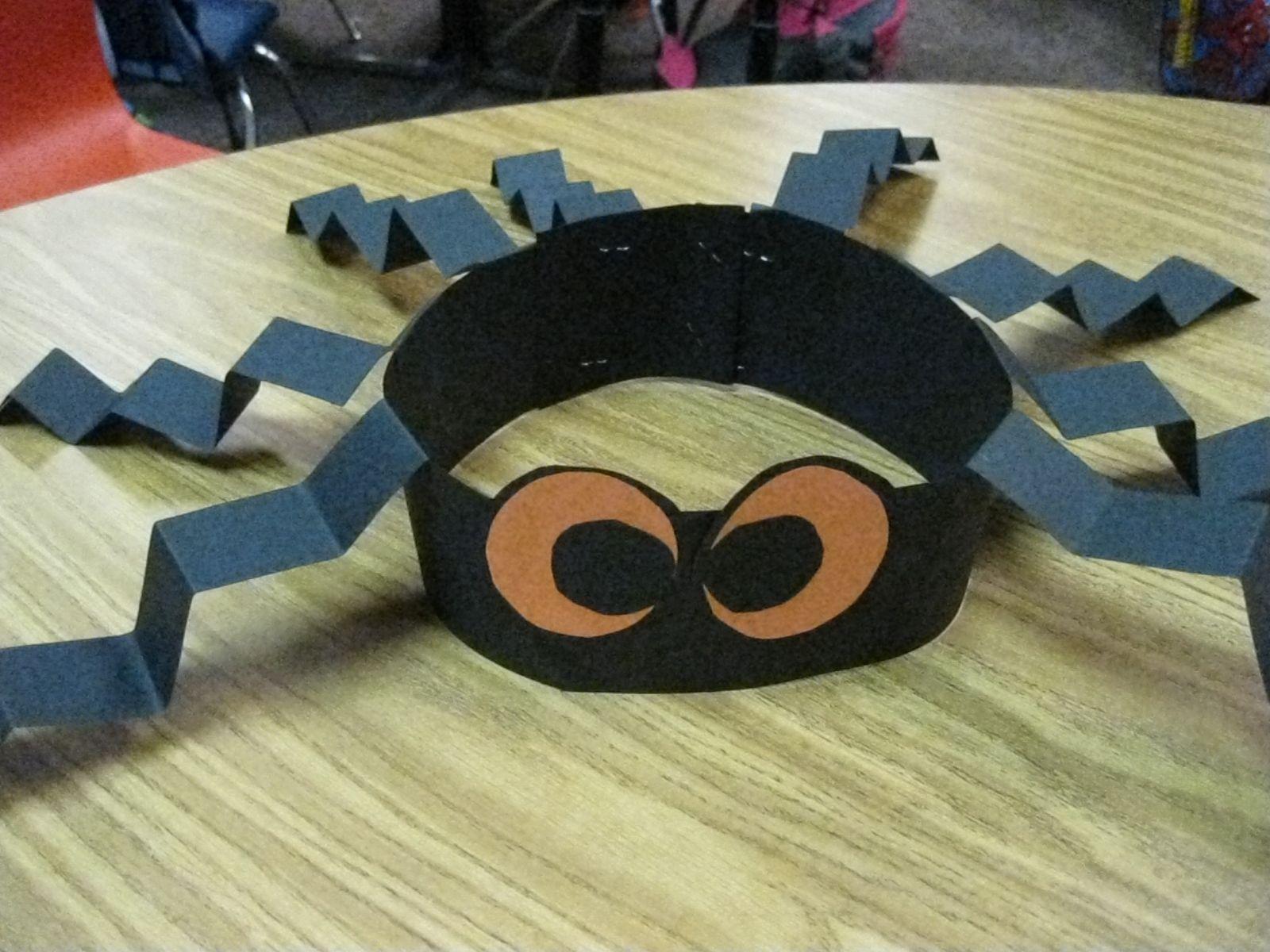 Spider Hat Craft