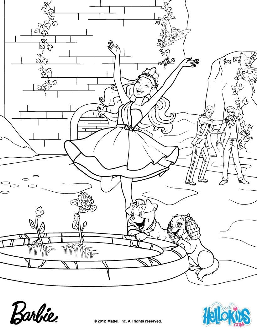Gardenia Flowers Made Out Of Diamonds Barbie Coloring Page More