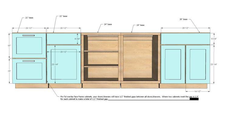 Standard Sizes Of Kitchen Cabinets Kitchen Sohor