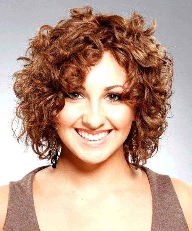 Short Hairstyles For Fat Faces And Curly Hair