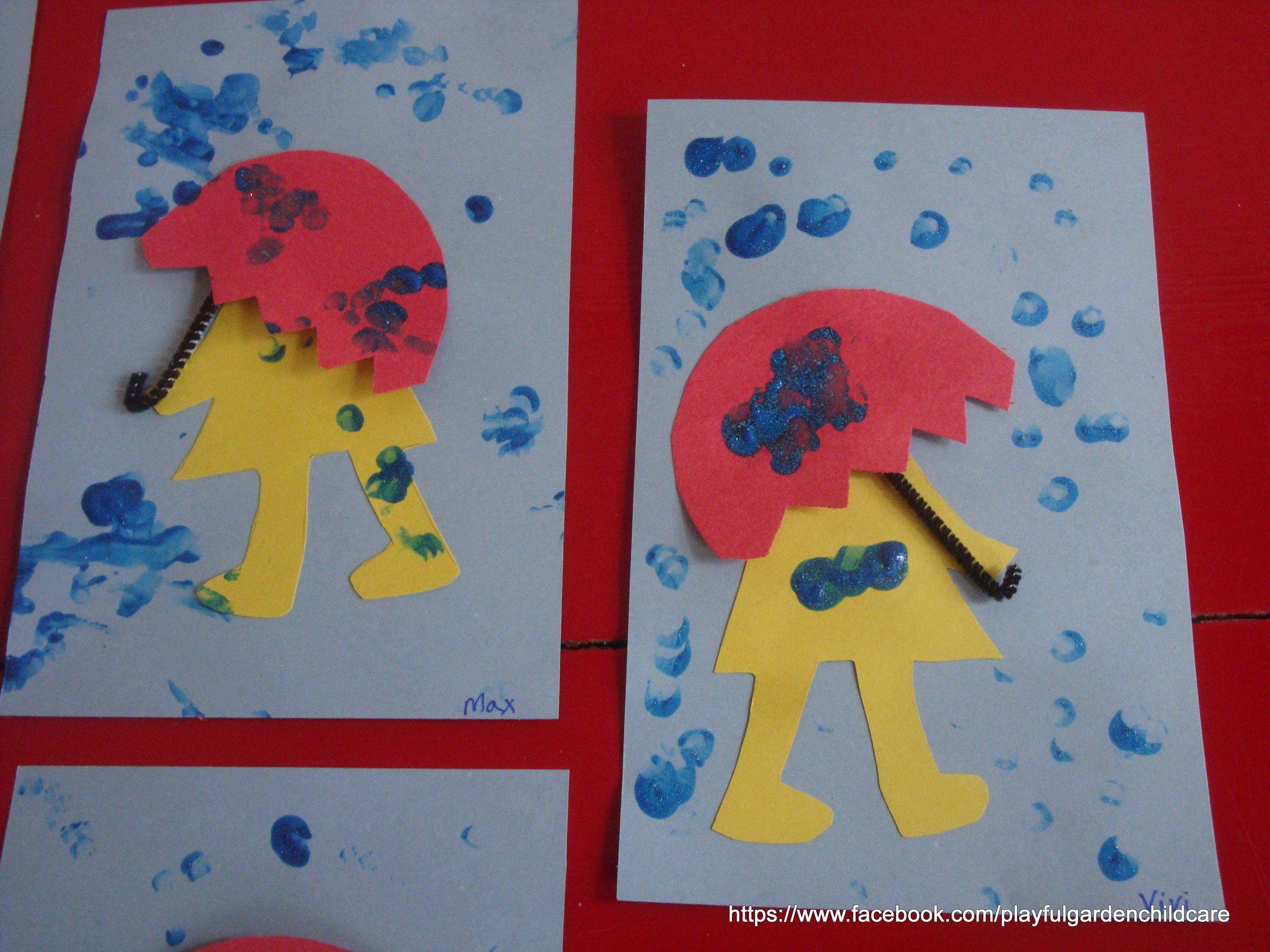 Fingerprint Rain Drops