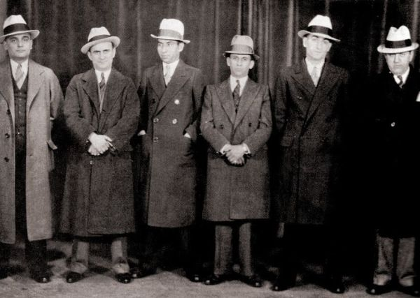 Meyer Lansky and Lucky Luciano 1932 | MOBSTERS | Pinterest ...