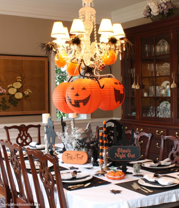 Decorate Your Chandelier Fall Decorating Ideas