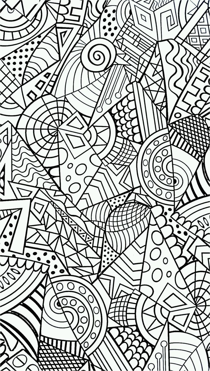 Coloriage à Imprimer Anti Stress Coloriage Pinterest
