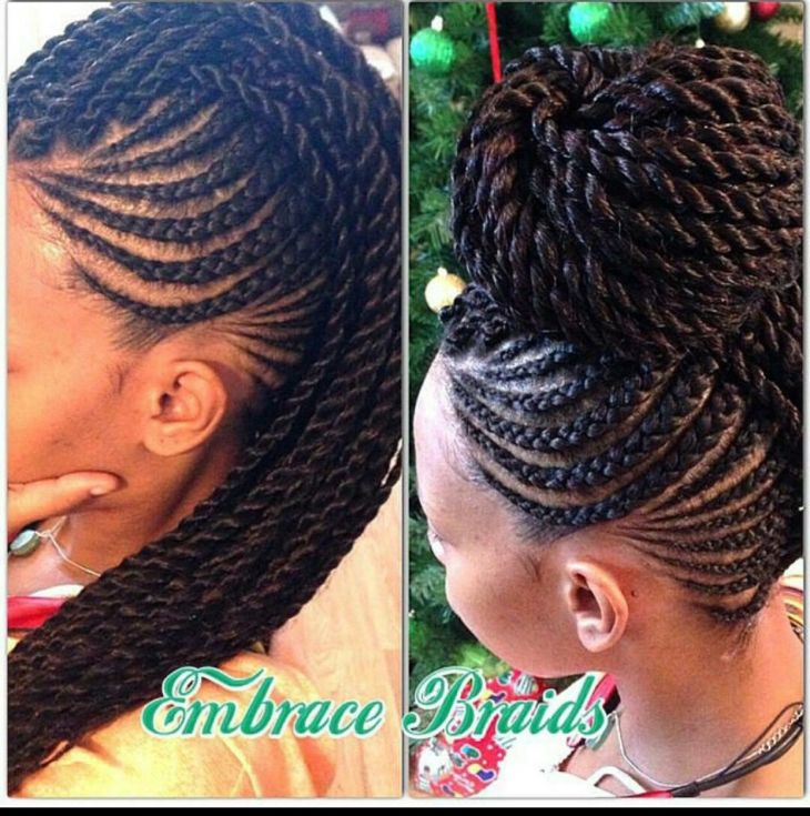 Braid hairstyle natural hair journey Pinterest Hairstyles