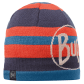 This technical hat is also super comfortable with a blend of knit