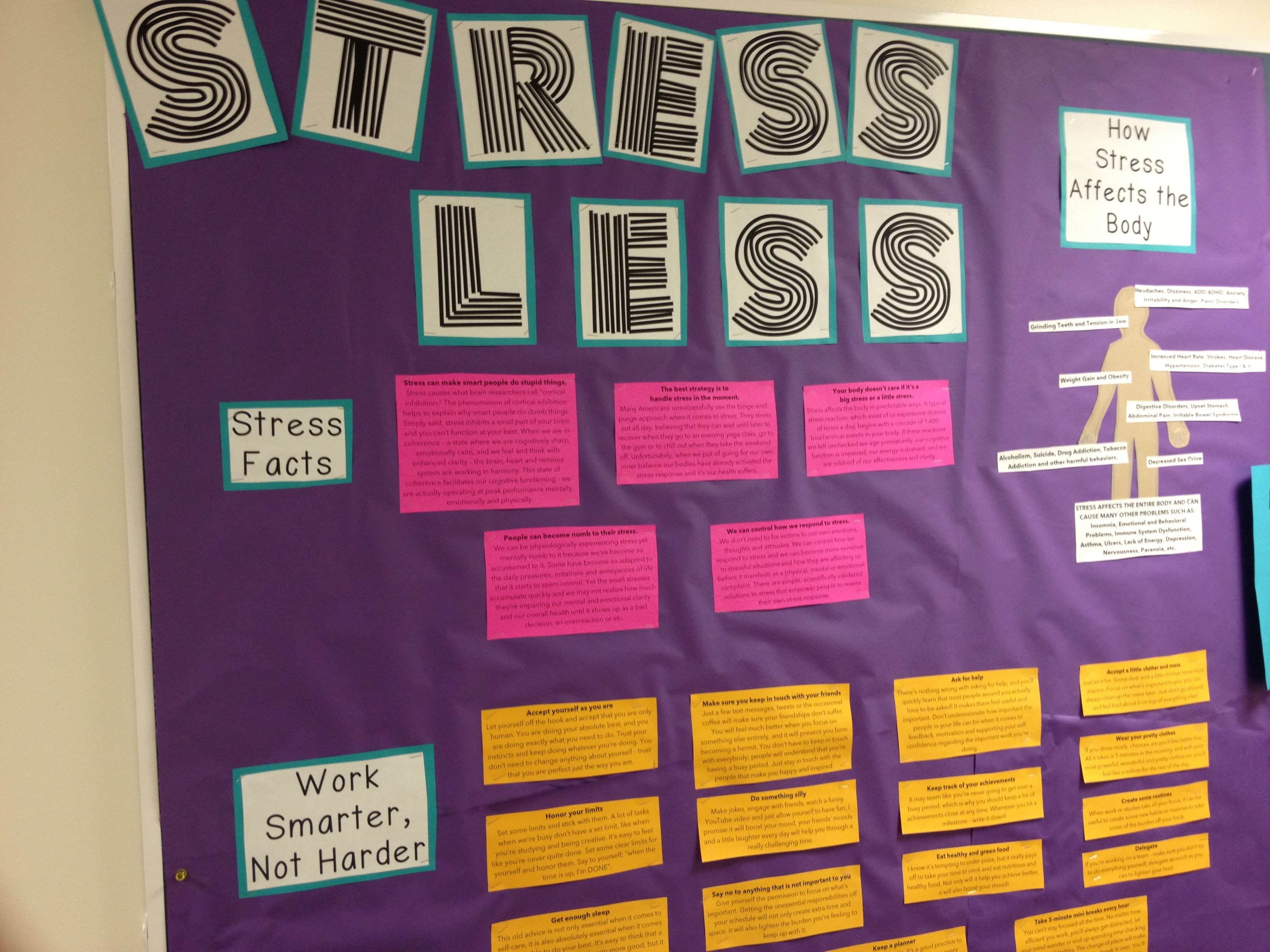 Stress Bulletin Board