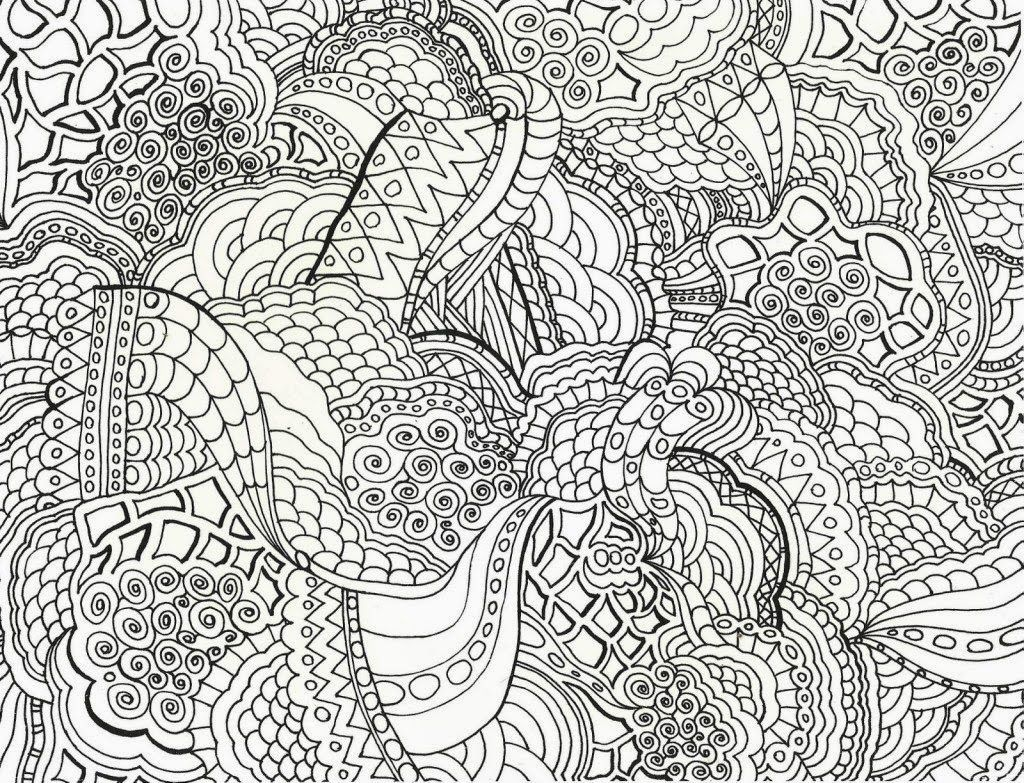 Hard Coloring Pages8 1024×783 Coloring Pinterest Adult
