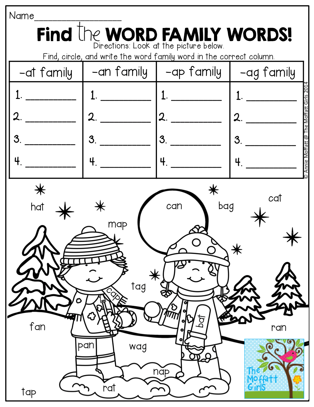 Worksheet Word Family Worksheet Grass Fedjp Worksheet Study Site