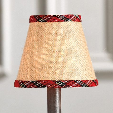 Our Design Partner Suzanne Kasler Created This Festive Red Plaid Chandelier Shade So You