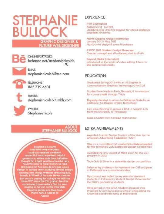 Elegant Good Looking Poorly Functional Résumé Designs For Stealing  Good Looking Resumes